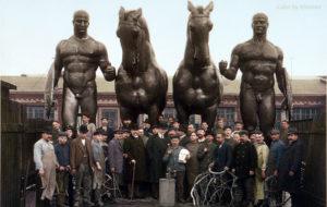 Петербург, статуи посольства Германии